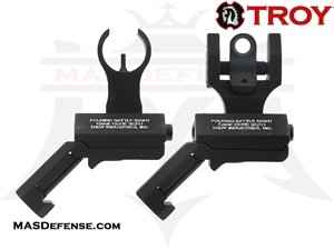 TROY INDUSTRIES 45 DEGREE OFFSET SIGHTS - SSIG-45S-HRBT-00