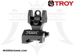 TROY INDUSTRIES REAR FOLDING BATTLESIGHT - SSIG-FBS-R0BT-00