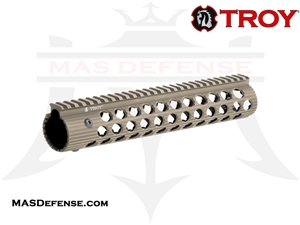 "TROY INDUSTRIES 11"" ALPHA RAIL FDE - STRX-AL1-11FT-01"