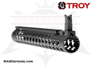 "TROY INDUSTRIES 13"" ALPHA RAIL WITH FRONT SIGHT - STRX-AL1-13BT-00"