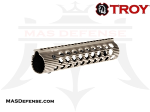 "TROY INDUSTRIES 9"" ALPHA RAIL FDE - STRX-AL1-90FT-01"