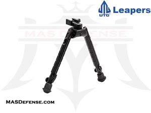 "UTG HEAVY DUTY RECON 360 BIPOD - HEIGHT 8.12""-11.97"" - TL-BP03"