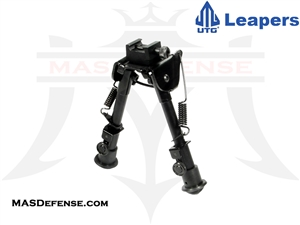 "UTG TACTICAL OP RUBBER FEET BIPOD - HEIGHT 6.1""-7.9"" - TL-BP78"