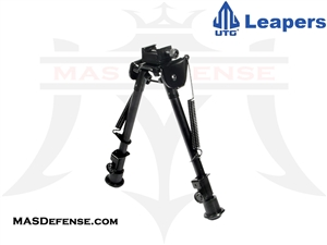 "UTG TACTICAL OP RUBBER FEET BIPOD - HEIGHT 8.3""-12.7"" - TL-BP88"