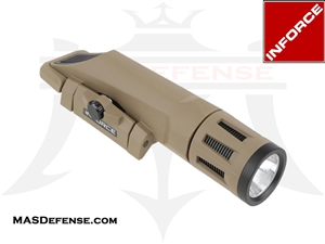 INFORCE WMLx GEN 2 WEAPON MOUNTED LIGHT - 800 LUMEN - FDE - WX-O6-1