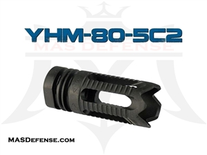 YANKEE HILL MACHINE PHANTOM FLASH HIDER 5.56 / .223 - YHM-28-5C2