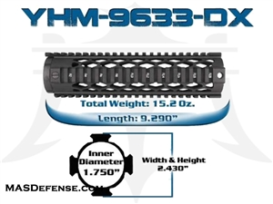 "YANKEE HILL 9.29"" DIAMOND SERIES - YHM-9633-DX"