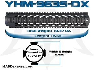 "YANKEE HILL 12.58"" DIAMOND SERIES - YHM-9635-DX"