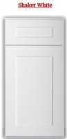 A SAMPLE DOOR SHAKER WHITE