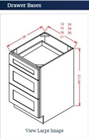 Drawer Base 24-3