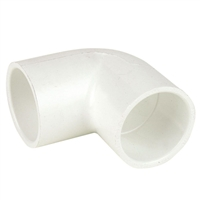 90 Degree Slip Elbow Fitting for Schedule 40 PVC Pipe