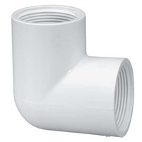 90 Degree Elbow Fitting for Schedule 40 PVC Pipe