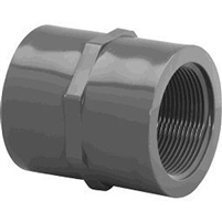 FIPT x FIPT Coupling for Schedule 40 PVC Pipe