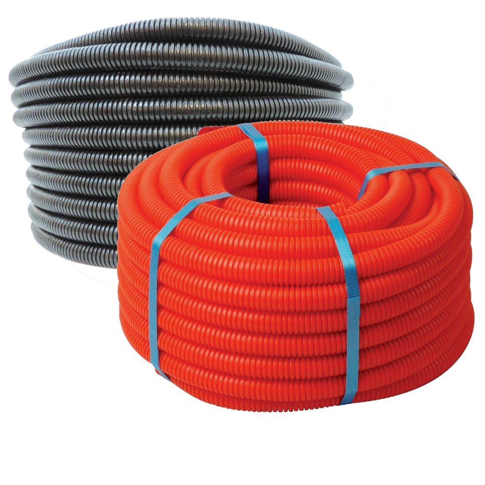 - 100FT Red 1//2 Split Wire Loom Tubing Polyethylene