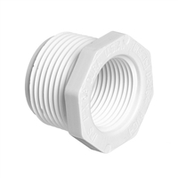 Reducer Bushing Mipt x Fipt for Schedule 40 PVC Pipe
