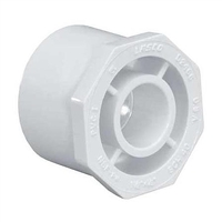 Reducer Bushing Spig x Slip for Schedule 40 PVC Pipe