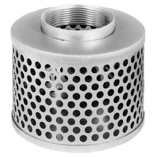 Round Hole Steel Strainer