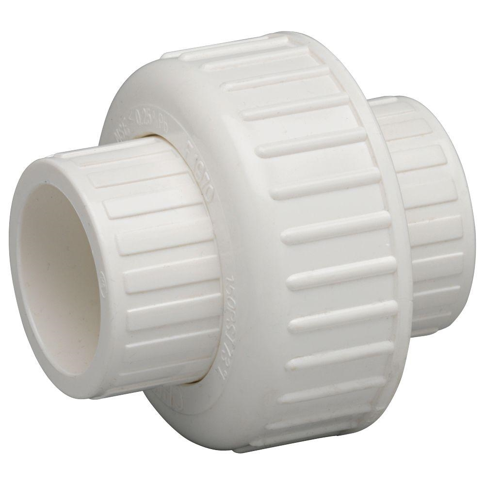 schedule 40 union slip x slip for pvc pipe