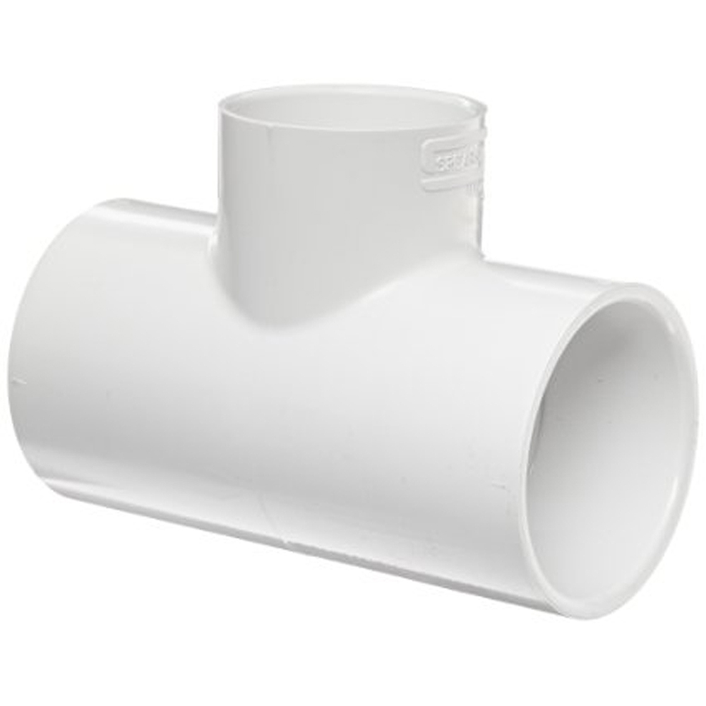 Slip Tee Fitting For Schedule 40 Pvc Pipe