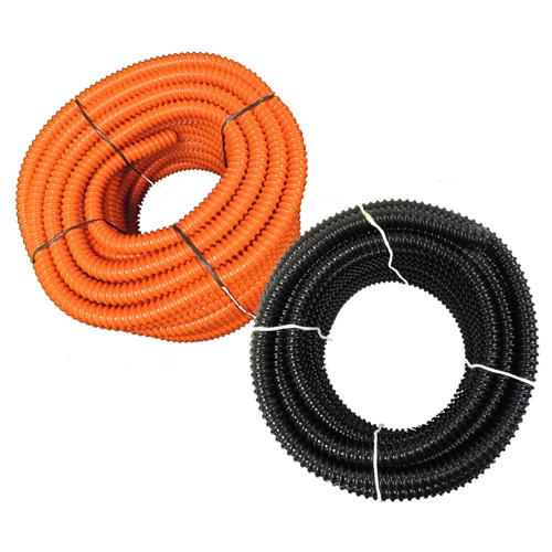 Flexible PVC Split Tubing - Corrugated