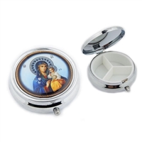 Madonna & Child Icon Pill Box