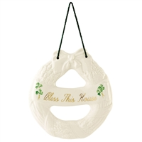 BELLEEK CLASSIC HOUSE BLESSING WREATH