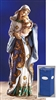 Adoring Madonna and Child Figurine