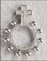 Crucifix Rosary Ring