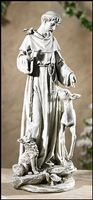St. Francis with Deer Statue