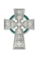 "4 3/4"" Pewter Celtic Cross"