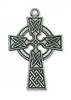 ANTIQUE SILVER CELTIC CROSS