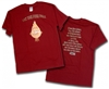 Let The Fire Fall T-Shirt, Red