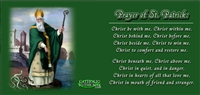 St. Patrick with Prayer Mug