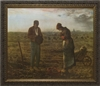"The Angelus by Millet Framed Image, 8"" X 10"""