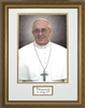 "Pope Francis Formal Matted with Signature, 11"" X 14"""
