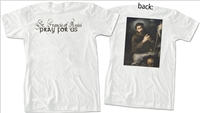 St. Francis of Assisi Value T-Shirt, White