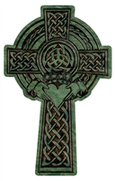 Celtic Claddagh Cross, 10""