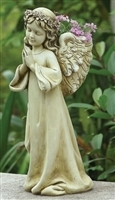 "16"" H  ANGEL CHILD  PLANTER"