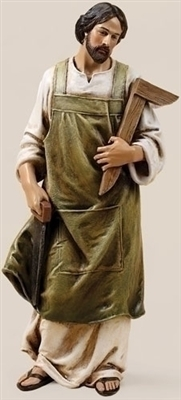 "10.25"" ST. JOSEPH THE WORKER STATUE"