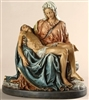"10"" COLORED PIETA STATUE"
