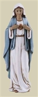 4 INCH IMMACULATE HEART OF MARY STATUE