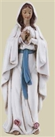 4 INCH OUR LADY OF LOURDES STATUE