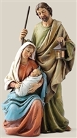 6.25 INCH HOLY FAMILY FIGURINE