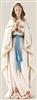 6.25 INCH OUR LADY OF LOURDES STATUE