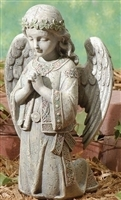 "12.25"" CELTIC KNEELING ANGEL, JOSEPH STUDIO"