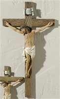 "Joseph Studio Crucifix, 20.5"" H, Resin/Stone Mix"
