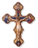 "14.5"" Misericordia Crucifix, Joseph Studio"