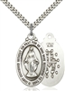 4145MSS/24S <br/>Sterling Silver Miraculous Pendant