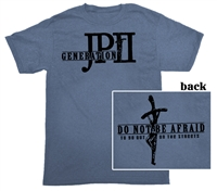 Generation JPII (Cross) T-Shirt, Blue