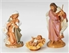 3 PIECE SET 7.5 INCH HOLY FAMILY FIGURES FONTANINI